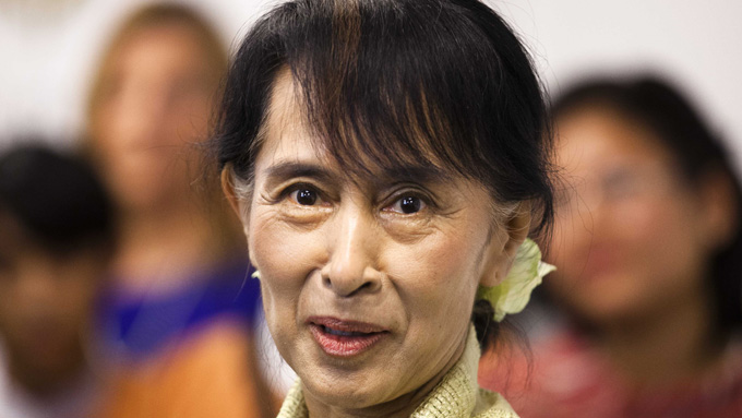 Aung San Suu Kyi (Foto: Markus Schreiber, ©MS RC**LON**)