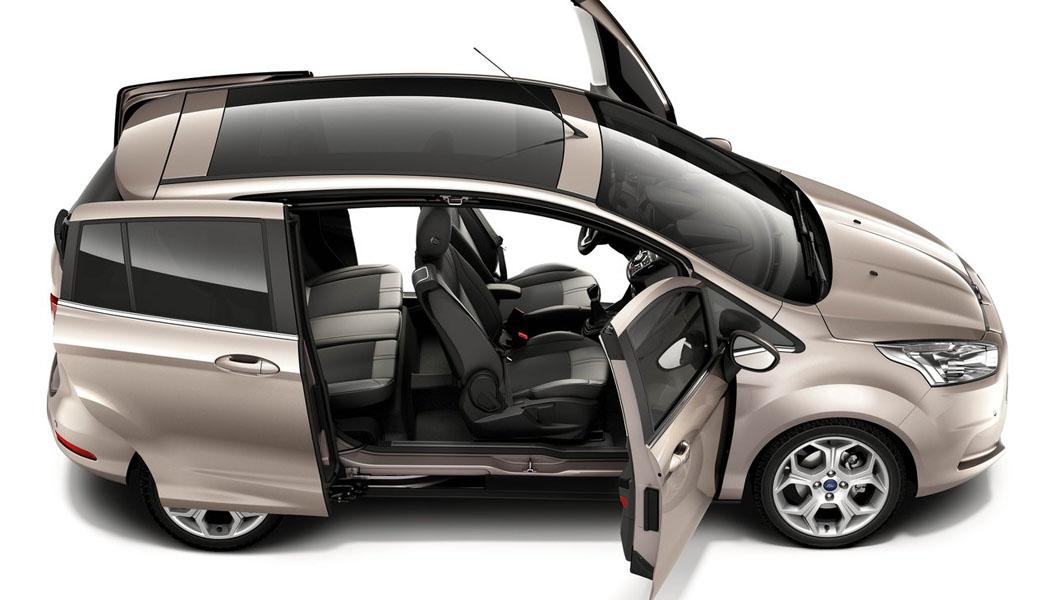 Ford B-Max byr på skyvedører der midtstolpen er integrert - noe som blant annet gir lettere adkomst til baksetene. Nå er prisen på den nye modellen klar.