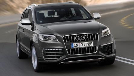 Audi Q7 V12 TDI.