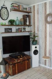Her er en del av stuen i «Gamle-Bergen»-huset i konkurransen.