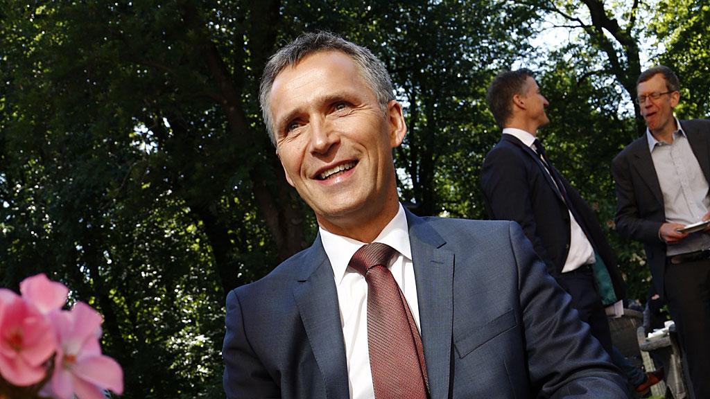 Statsminister Jens Stoltenberg (Ap) (Foto: SCANPIX)