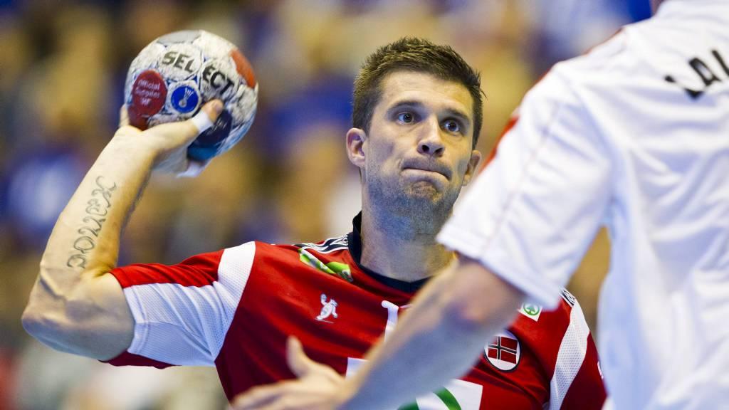 TAR PAUSE: Kampen mot Ungarn var den siste landskampen for Kristian Kjelling på en stund. (Foto: Grøtt, Vegard/NTB scanpix)