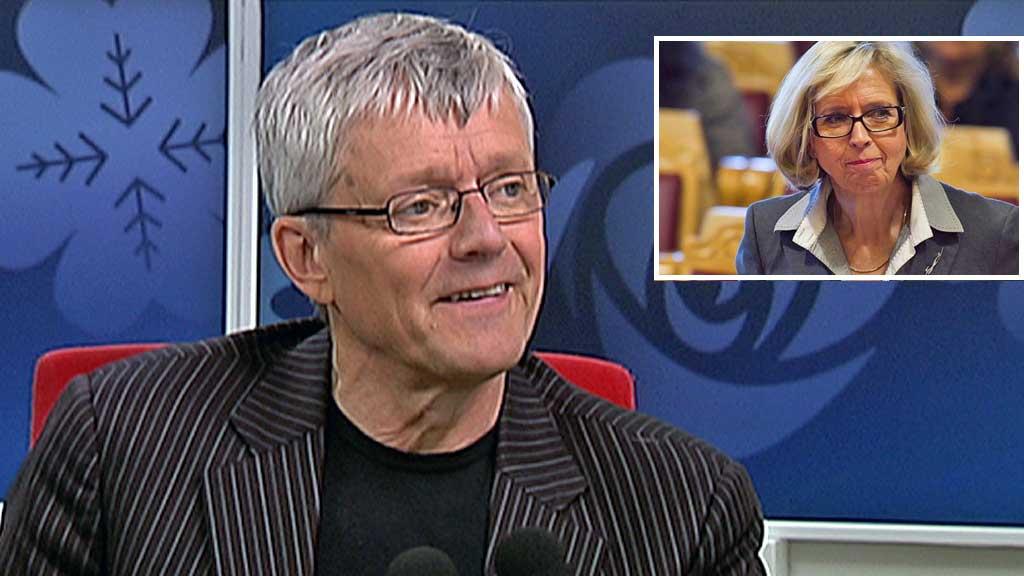 PÅ VEI UT?: TV 2s politiske redaktør Stein Kåre Kristiansen er sikker på at også Ap vil gjøre statsrådsskifte, og tror helseministeren er på vei ut av regjeringen. (Foto: Montasje/TV 2)