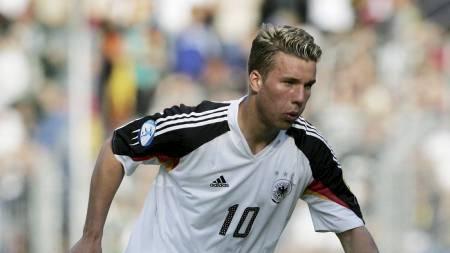Lukas Podolski (Foto: OLIVER LANG/AFP)
