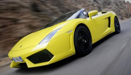 Lamborghini Gallardo LP650-5 Spyder.