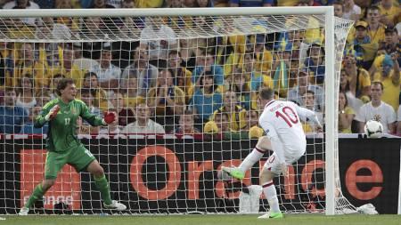 Wayne Rooney England Ukraina (Foto: PA Wire/Pa Photos)