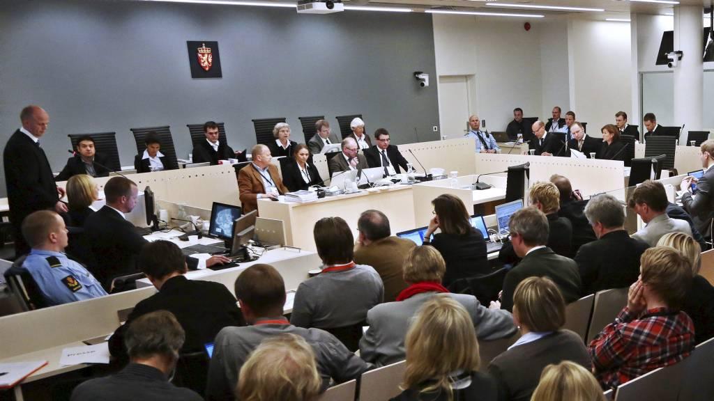 MOT AVSLUTNING: Fire vitner skal føres for retten onsdag, deretter gjenstår bare prosedyrene i rettssaken mot Anders Behring Breivik etter terrorangrepene 22. juli. (Foto: Håkon Mosvold Larsen/NTB scanpix)