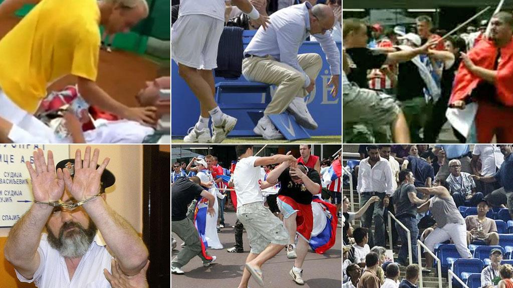 Tennismontasje