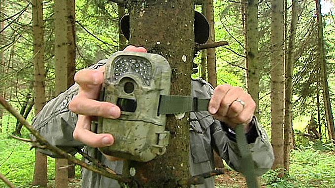 FERSKET: Det var et kamera av denne typen som fanget politikerens hete bevegelser i skogen i Carinthia på film. (Foto: ATORF)
