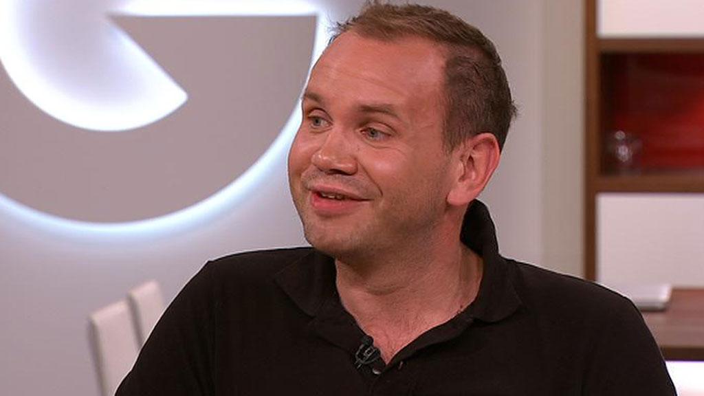 Kristian Fjellanger har gått ned 70 kilo. Han er lei kroppsfokuset i mediene, og er bekymret for den nye generasjonen som skal vokse opp med det enorme kroppspresset i samfunnet.  (Foto: God morgen Norge)