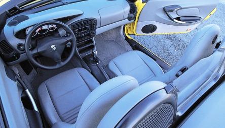 Interiøret tåler godt sammenligning med langt mer moderne biler.