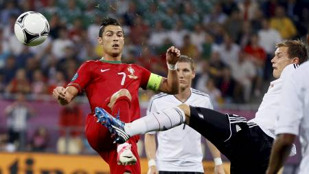 Cristiano Ronaldo Holger Badstuber (Foto: Frank Augstein/Ap)