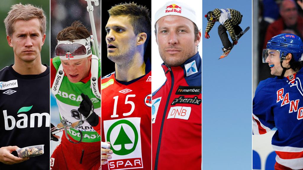Best av de beste - 2012-deltakerne (Foto: Alle foto: Scanpix)