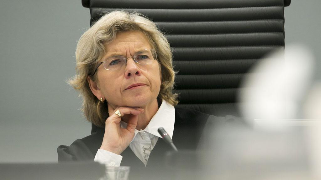 24. august leser tingrettsdommer Wenche Elisabeth Arntzen opp dommen i straffesaken mot Anders Behring Breivik. (Foto: Scanpix)