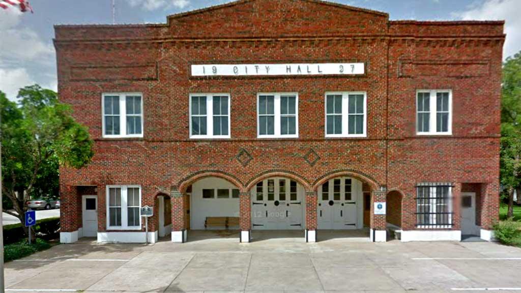 Shiner politistasjon (Foto: Google Street View)
