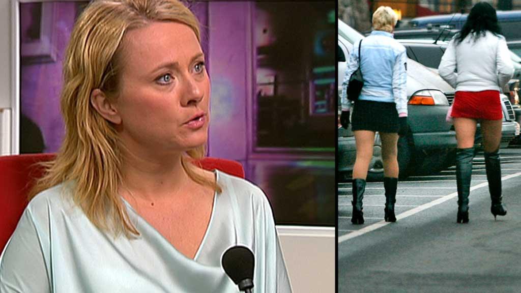 Anniken Hauglie og prostituerte (Foto: TV 2/Scanpix montasje: TV 2)