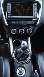 Citroën Aircross detalj midtkonsoll