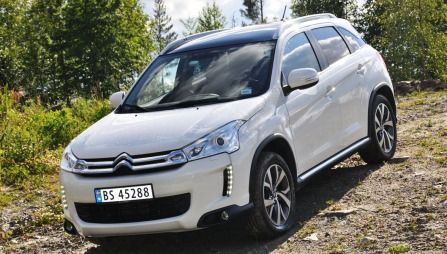 Citroën Aircross skrått forfra