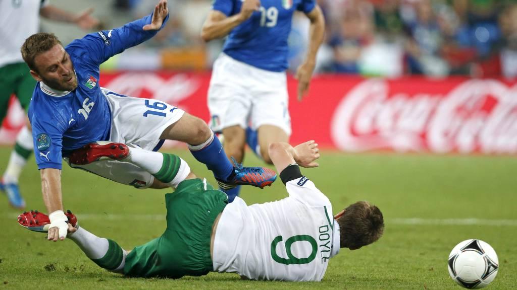 TIL PREMIER LEAGUE: Daniele De Rossi vil til Premier League. (Foto: Peter Morrison/Ap)