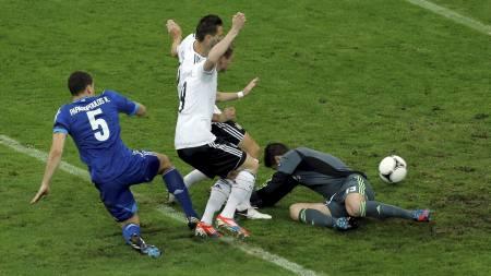 Miroslav Klose Andre Schurrle (Foto: Gero Breloer/Ap)