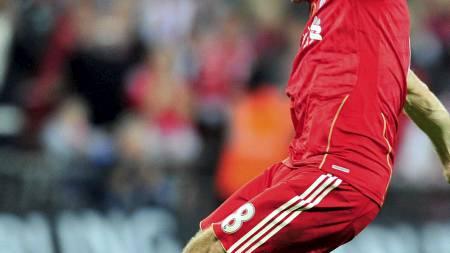 Steven Gerrard (Foto: GLYN KIRK/Afp)