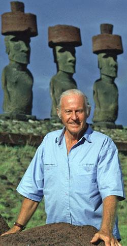 Thor   Heyerdahl påskeøya (Foto: Scanpix)