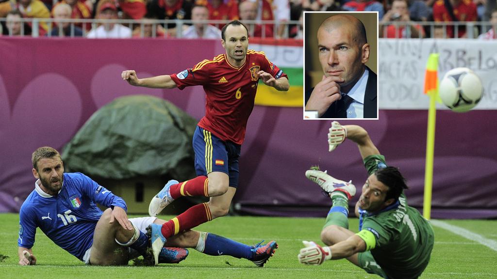 Zidane Buffon Iniesta