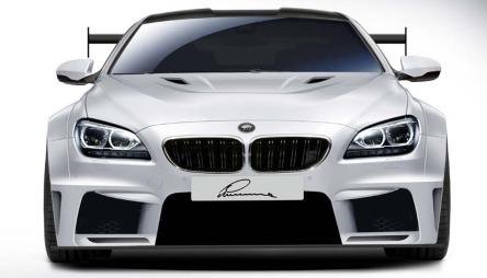 BMW M6 Lumma Design - her med hvitt panser.