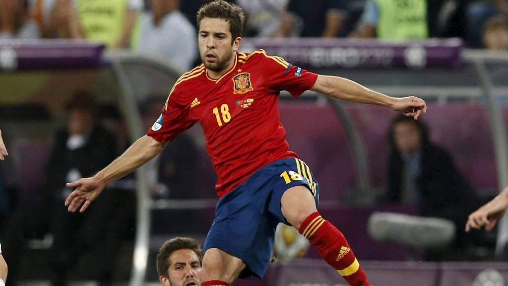 KLAR FOR BARCELONA: Jordi Alba (Foto: ALESSANDRO BIANCHI/Reuters)