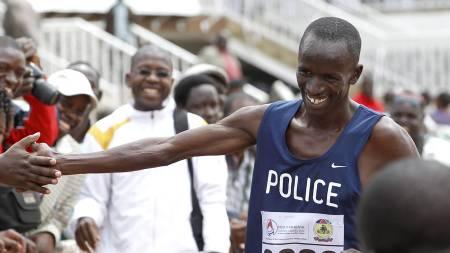 Ezekiel Kemboi (Foto: THOMAS MUKOYA/Reuters)