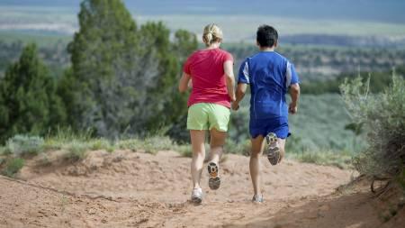 EFFEKTIVT: Å løpe intervaller er god trening som ikke tar lang tid å gjennomføre. (Foto: Illustrasjonsbilde / Colourbox/Image Source)