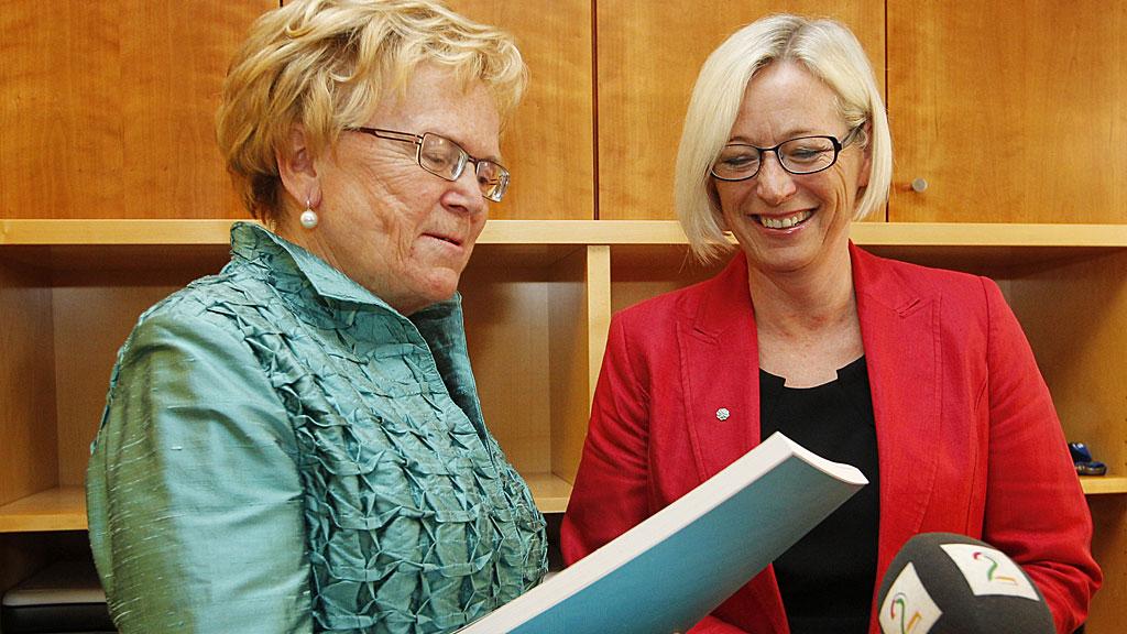 Marit Arnstad ble ny samferdselsminister etter Magnhild Meltveit kleppa (Foto: Håkon Mosvold Larsen/NTB Scanpix)