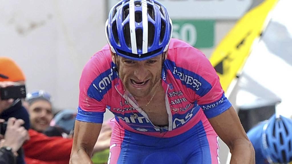 Michele Scarponi (Foto: Fabio Ferrari/Ap)