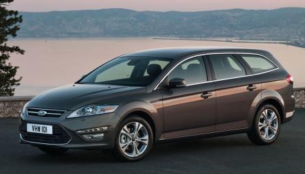 Mondeo etter siste facelift. Bilen vi omtaler har i tillegg Titanium S-stylingpakken.