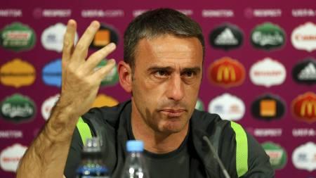 Paulo Bento, Portugal-trener. (Foto: HANDOUT/Afp)