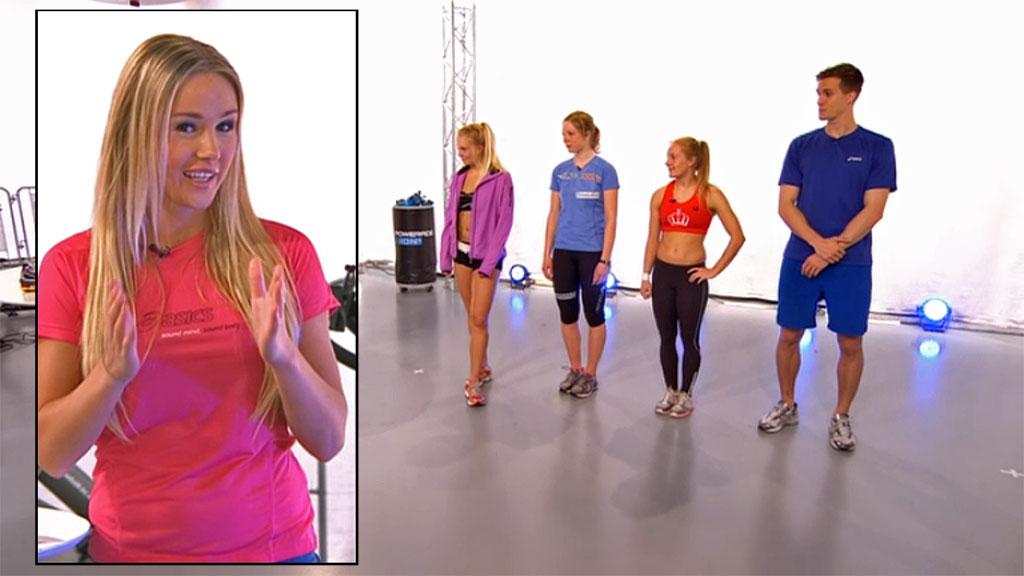 Rachel Nordtømme og Sweat Show