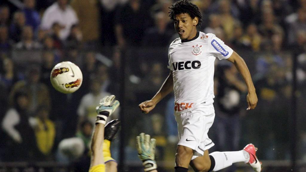 BLE HELTEN: Romarinho. (Foto: SANTIAGO PANDOLFI/Reuters)