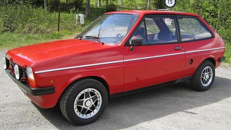 Designet på første generasjon Fiesta var både lett, modene og lekkert, og bilen ble raskt populær over store deler av verden. (Foto: Privat)