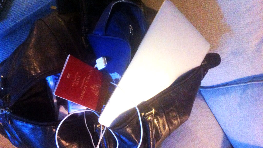koffert (Foto: Sverre Holm-Nilsen)