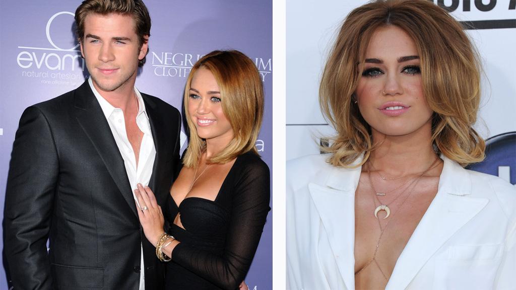 RYKTEFLOM: En kilde nær paret sier at det er trøbbel i paradis for Miley Cyrus og forloveden Liam Hemsworth.