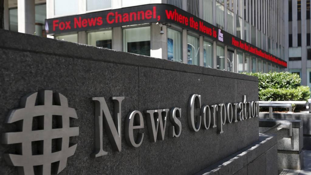 DELES: Nyheter og underholdning blir splittet i News Corp. (Foto: BRENDAN MCDERMID/Reuters)