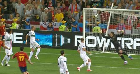 Arbeloa med stor sjanse mot Portugal.   (Foto: TV 2)