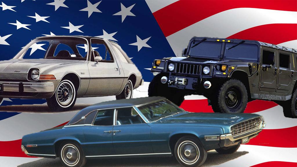 Hva er en typisk, amerikansk bil? Broom feirer den amerikanske nasjonaldagen med å se på noen biler som bare amerikanerne kunne ha laget.