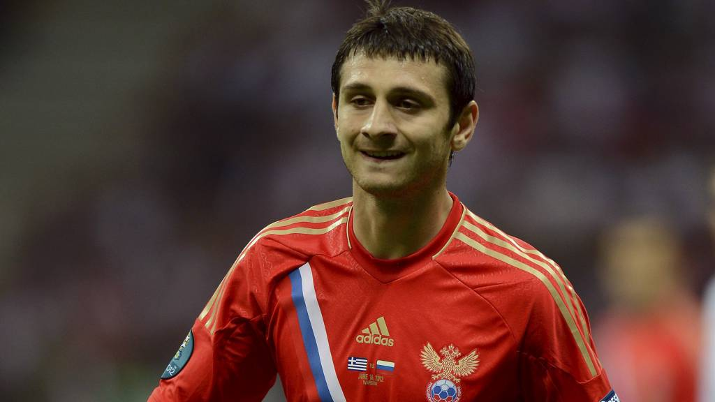 TIL SPURS: Russlands Alan Dzagoev. (Foto: Tony Marshall/Pa Photos)