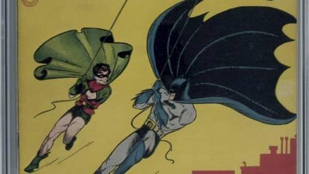 Batman og Robin (Foto: AP/Ap)