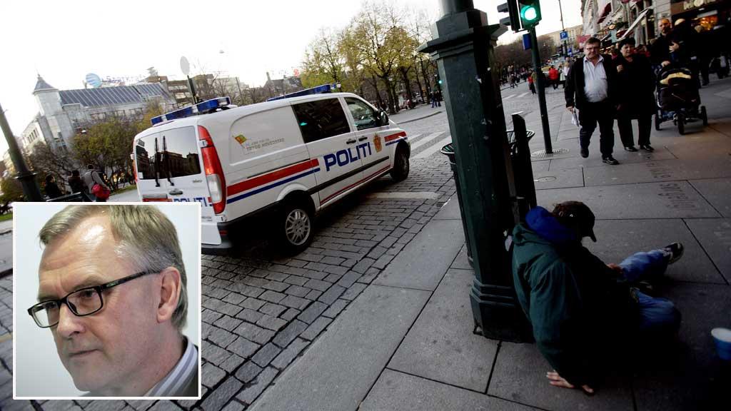 VIL HA ORDEN I SENTRUM: Oslos nye politimester Hans Sverre Sjøvold. (Foto: Scanpix)