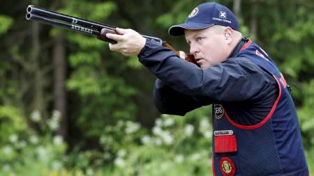 OL-HÅP: Tore Brovold tok sølv i Beijing i 2008 og har ambisjoner om å vinne ny medalje under lekene i London til sommeren. (Foto: Larsen, Håkon Mosvold/NTB scanpix)