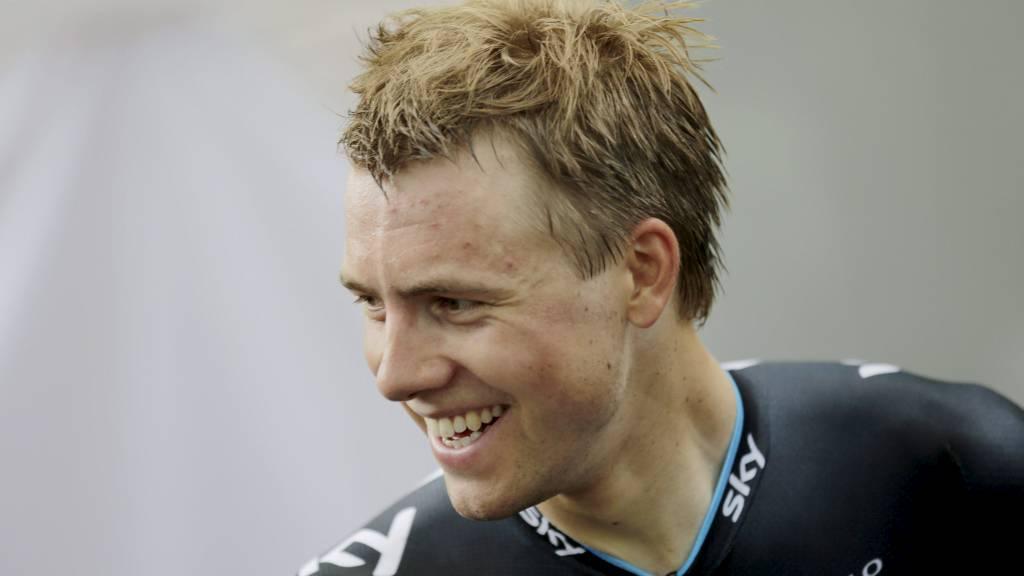 Edvald Boasson Hagen etter prologen i Liege. (Foto: Lauten, Daniel Sannum/NTB scanpix)