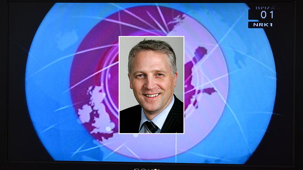 Øyvind Korsberg og NRK logo (Foto: Montasje: TV 2/SCANPIX)