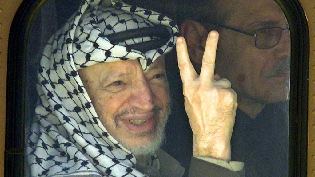 BLE HAN FORGIFTET? En sveitsisk undersøkelse viser ifølge TV-kanalen Al Jazeera at Yasser Arafat, som døde i 2004, ble forgiftet av det radioaktive stoffet polonium.